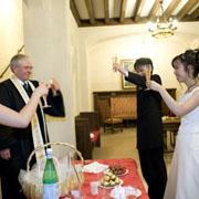 パリの花嫁になる アメリカンチャーチ・パリ ウェディング ウェディング ブランシュ・ボヤージュのウェディングプラン